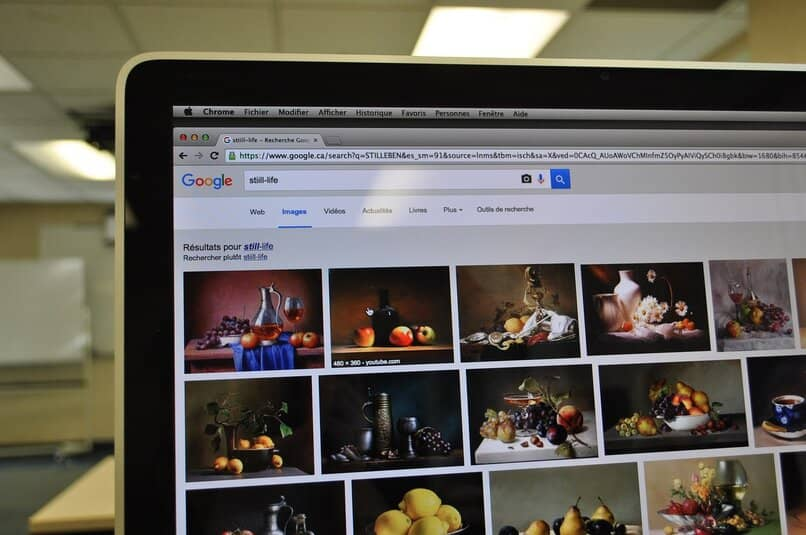 que son las imagenes organicas en el buscador de google